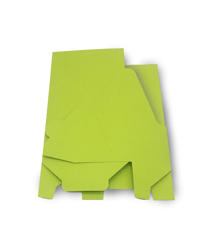 Atril de alta calidad para LANG/A6, DIN LANG/A6, para teñida 300 – 330 G/M² (cartón, Flyer Soporte, soporte para folletos, folletos expositor para folletos, – Expositor de cartón – Cartón), color marrón 50 unida 15fd30