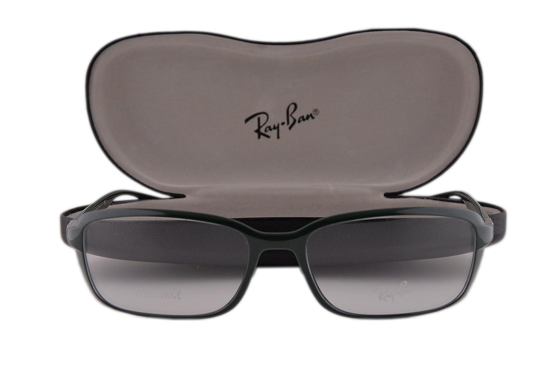 Ray Ban RX7037 Eyeglasses 56-17-145 Shiny Military Green 5433 RX 7037