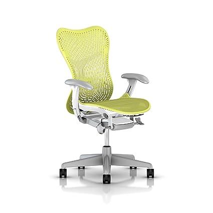 Astounding Herman Miller Mirra 2 Task Chair Lime Green With Triflex 2 Uwap Interior Chair Design Uwaporg