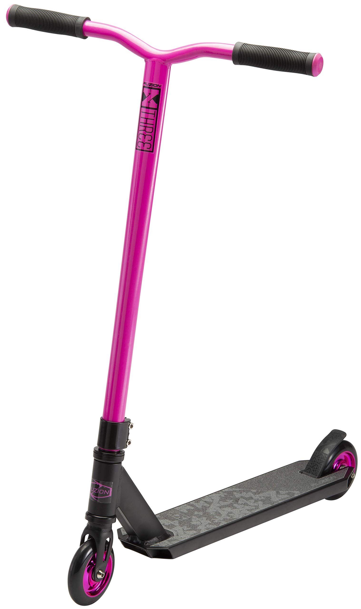 Fuzion X-3 Pro Scooter (Black/Pink) by Fuzion
