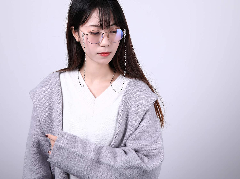 Cooltime accessorio per occhiali da vista a quadrifoglio per uomo e donna