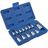 Neiko 10071A Torx Bit Socket Set, T8 - T60, S2 Steel   13-Piece Set