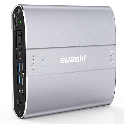 Amazon com: Suaoki D100 Portable Charger AC Outlet Power