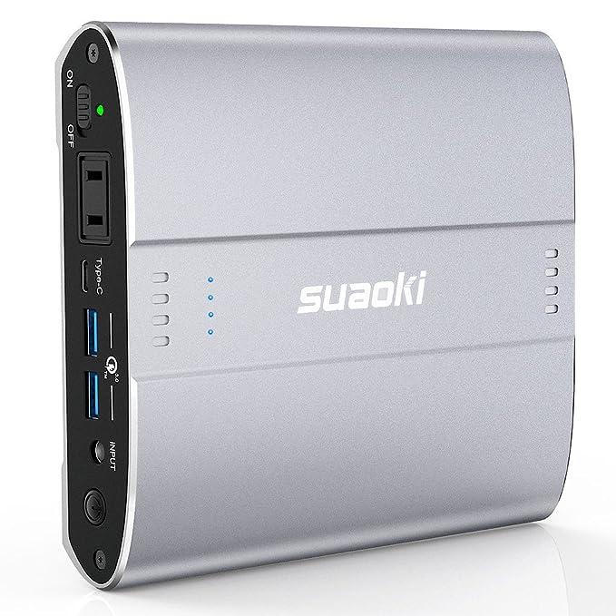 Suaoki D100 Banco de energía 100 W AC/Type-C PD/qc3.0 USB ...