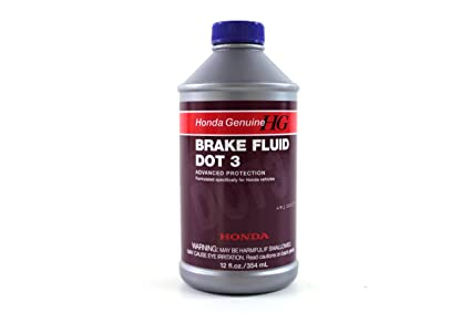 Amazoncom Genuine Honda Fluid 08798 9008 Dot 3 Brake Fluid 12 Oz