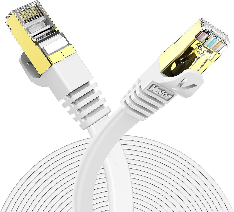 Veetop Lan Kabel Cat 7 Netzwerkkabel Internetkabel Computer Zubehör