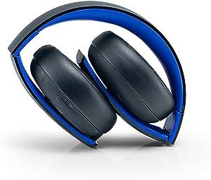 PlayStation Gold Wireless Stereo Headset - Jet Black (Renewed)