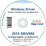 Automatic Driver Installation Recovery Disc for Windows 10, 7, Vista and XP. Supports HP Dell Gateway Toshiba Gateway Acer Sony Samsung MSI Lenovo Asus IBM Compaq eMachines (DVD-DRIVE)