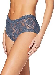 product image for Hanky Panky Women's Signature Lace Boyshort Panty, Night Shadow, S