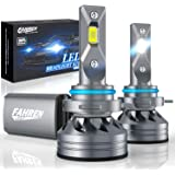 Fahren 9012/HIR2 LED Headlight Bulb, 60W 10000 Lumens Super Bright LED Headlights Conversion Kit 6500K Cool White IP68…