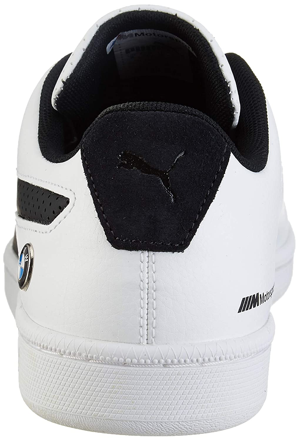 Men s BMW MMS Court Perf White Leather Sneakers-9 UK India (43 EU)  (30620002)  Buy Online at Low Prices in India - Amazon.in 07329a658