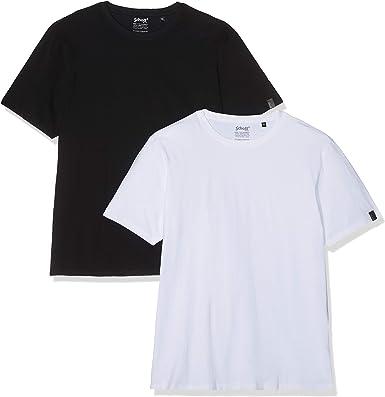 Schott NYC Camiseta (Pack de 2) para Hombre: Amazon.es: Ropa y ...