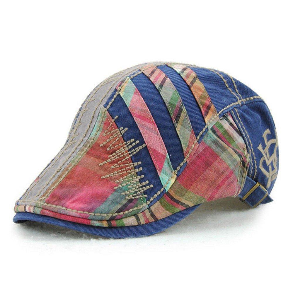 Women's Trendy Fashion Summer Adjustable Newsboy Visor Ivy Cap Hat