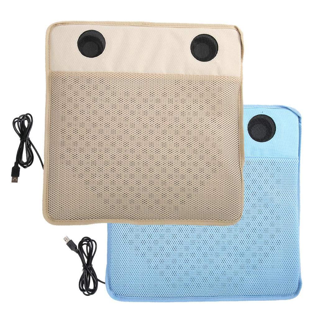 Kireina 電気冷却シート USB 多機能 ユニバーサル 5V 冷風パッド オフィス ホーム 夏 自動車 クッション プロテクター マット ブルー Kireinay4xfw9kgzv-02  ブルー B07QYV1CDP