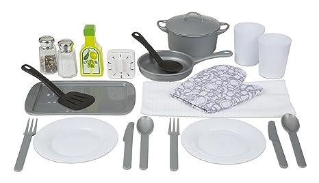 Melissa U0026 Doug 22 Piece Play Kitchen Accessories Set   Utensils, Pot, Pans