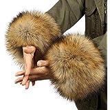 Women's Arm Warmers Trend Mark 2017 Women Winter Wrist Warmer Oversleeve Faux Fur Windproof Arm Bracelet Wristbands Arm Sleeves Apparel Accessories