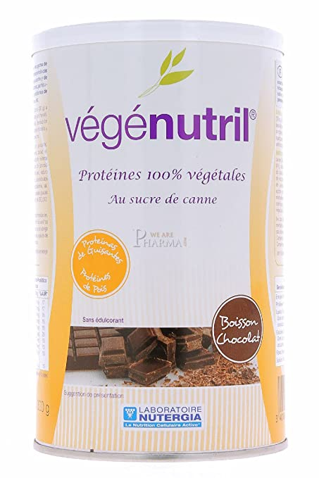 Nutergia Vegenutril Chocolate Complemento Alimenticio - 300 gr