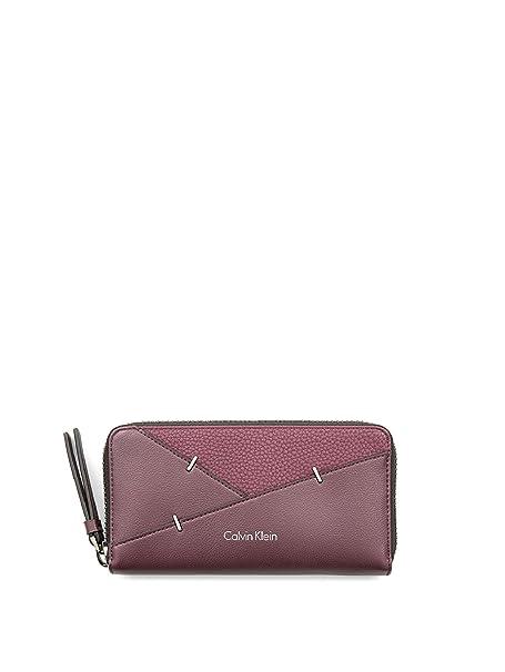 67b2d545db Calvin klein K60K603765505 Portafoglio Accessori Bordeaux Pz.: Amazon.it:  Abbigliamento