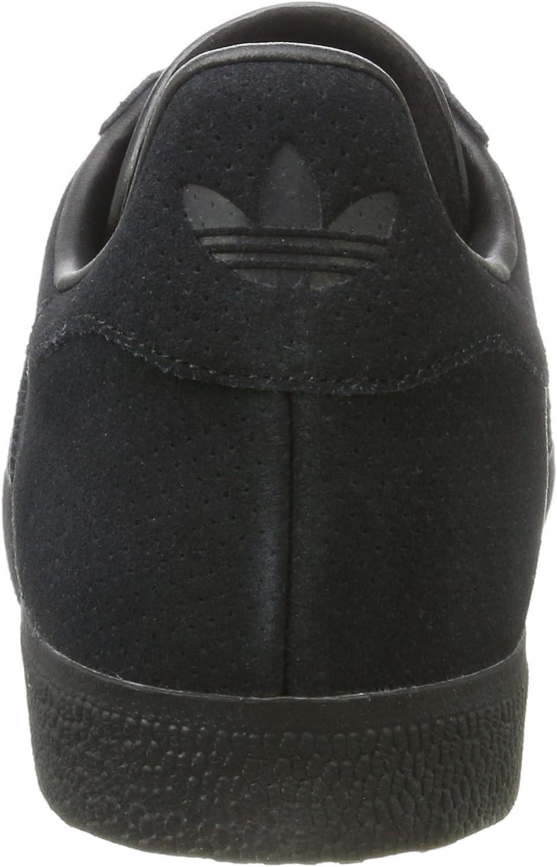 adidas Herren Gazelle Laufschuhe Mehrfarbig (Core Black/Core Black/Gold Met.)