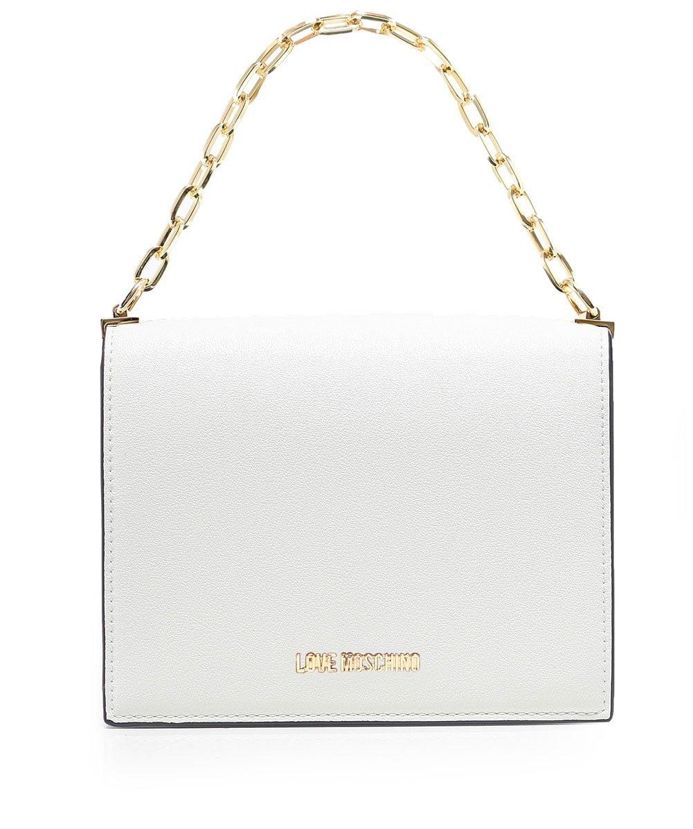 Moschino Love Moschino Women's Mini Crossbody Bag One Size White by Moschino Love Moschino (Image #1)