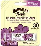 Hawaiian Tropic Lip Balm, Protezione Solare 30, Resistente all'Acqua - 4 gr