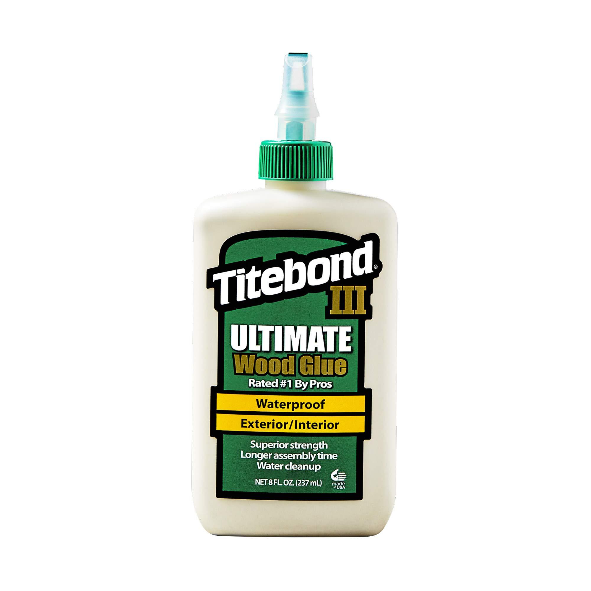 Titebond III Ultimate Wood Glue, 8 oz.