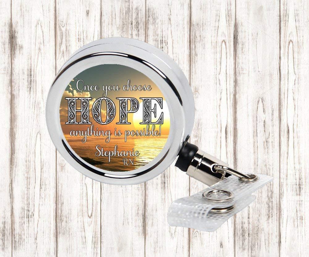 ID Holder Hope Badge Reel Badge Reel
