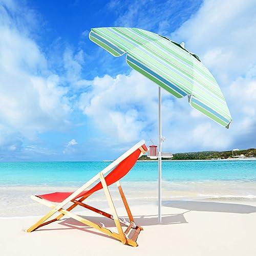 PIEDLE Portable Beach Umbrella