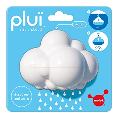 MOLUK Plui Rain Cloud Tub Toy: Toys & Games