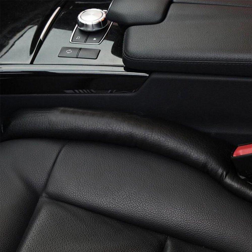 confezione da 2 pezzi Valuetom Seggiolino Auto Gap Filler Pad Imbottitura Protettiva Interna Impermeabile con Etichetta da Ricamo