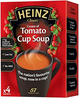 product image for Heinz Cream of Tomato Cup Soup - 88g - Pack of 2 (88g x 2)