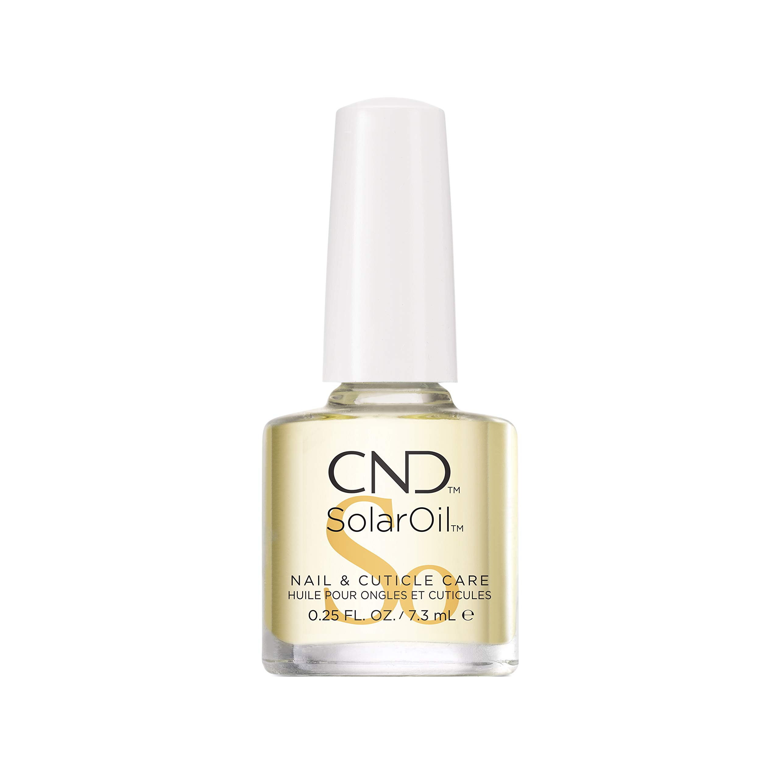 CND SolarOil Nail & Cuticle Care, for Dry, Damaged Cuticles, Infused with Jojoba Oil & Vitamin E for Healthier, Stronger Nails
