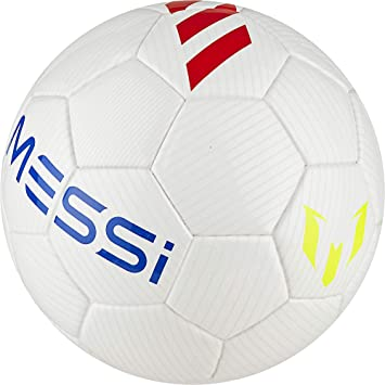 adidas Messi Mini 2018-2019, Balón, White-Solar Red-Solar Yellow ...