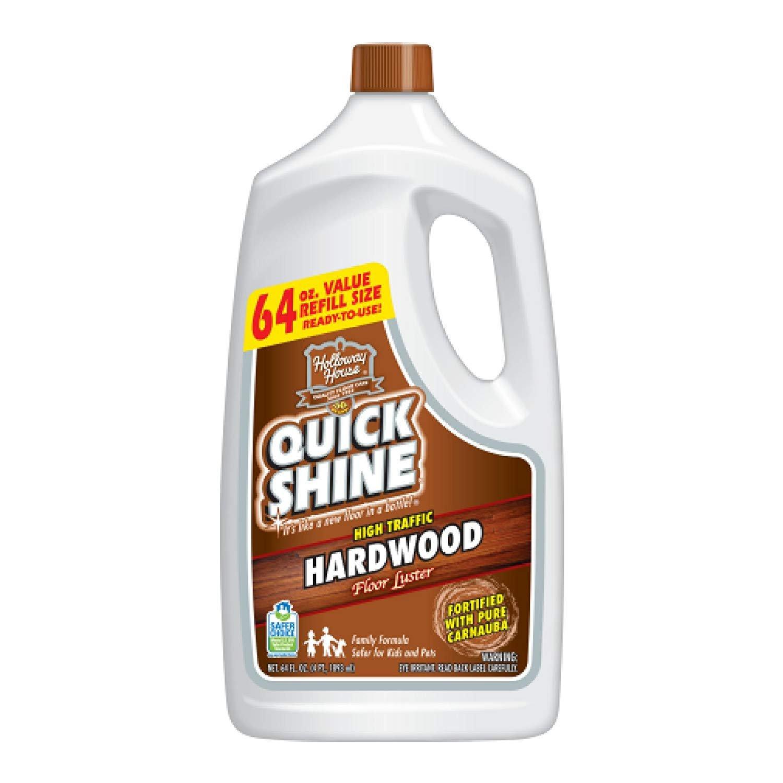 Quick Shine High Traffic Hardwood Floor Luster; 64 oz. - 1 Pack