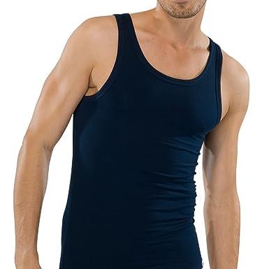 fbc65d9371546 SCHIESSER Herren Achsel Shirt 95/5 2er Pack: Amazon.de: Bekleidung