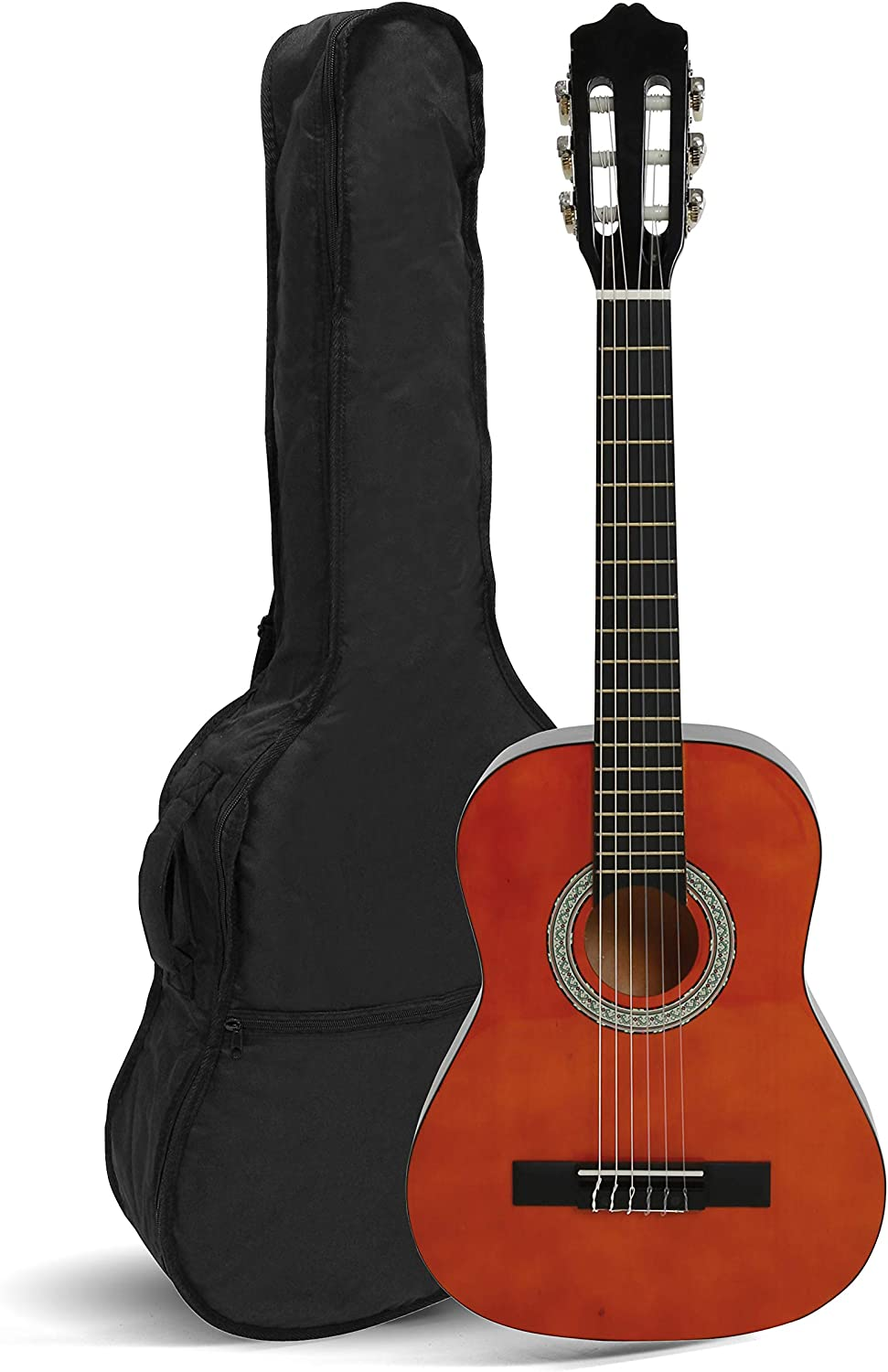 Navarra NV11 - Guitarra clásica, Miel, 4/4: Amazon.es ...