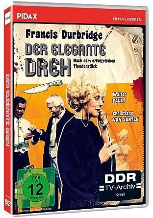 Francis Durbridge: Der elegante Dreh / Hochspannender Kriminalfilm mit Booklet inkl. bisher unveröffentlichter Durbridge-Kurzgeschichte (Pidax Film-Klassiker)