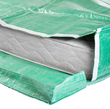Protective Mattress Bags With Handles Moving And Storage Reusable Double