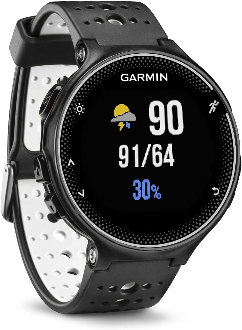 Garmin Forerunner 230 – Black White Renewed