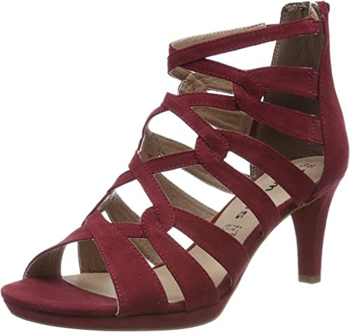 Tamaris Damen 1 1 28353 22 Peeptoe Sandalen: Tamaris: Amazon
