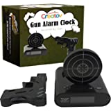 Creatov Alarm Clock with Infrared Laser Gun - Black