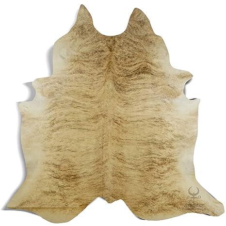 Amazon.com: RODEO - Alfombra de piel de vaca, color marrón y ...