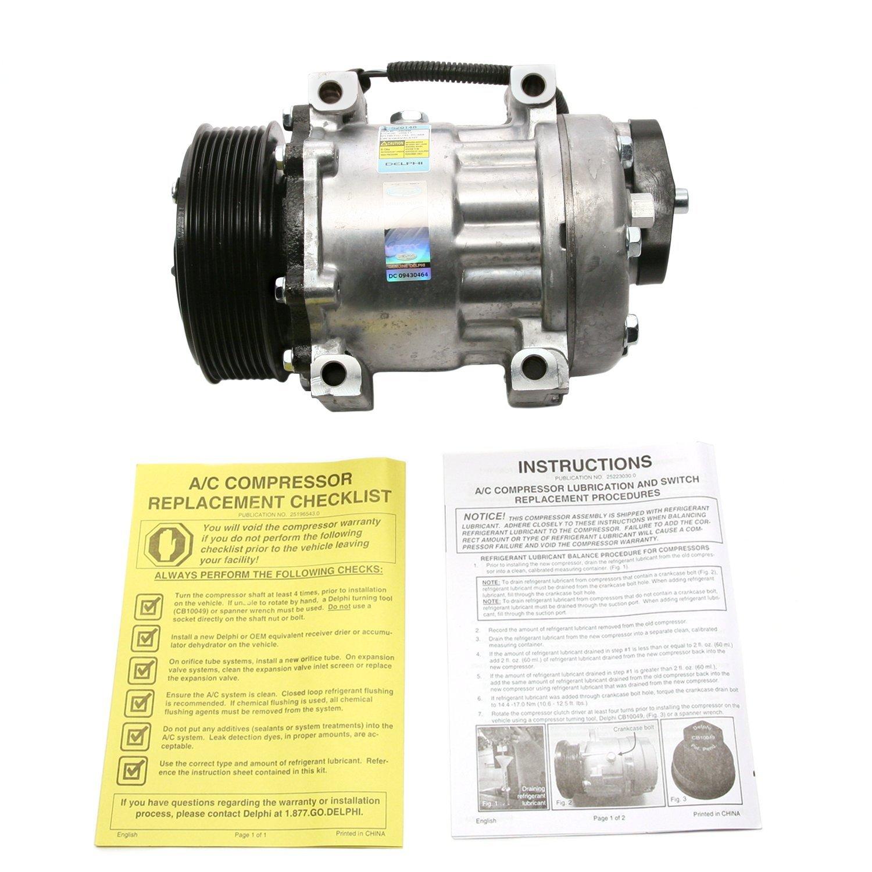 Delphi CS20148 7H15 New Air Conditioning Compressor