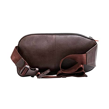 Amazon.com: Velez Mens Genuine Colombian Leather Chest Bag Waist Bag FannyPack BumBag Belt Pouch | Koala de Cuero Colombiano para Hombres Navy Brown: 2B e
