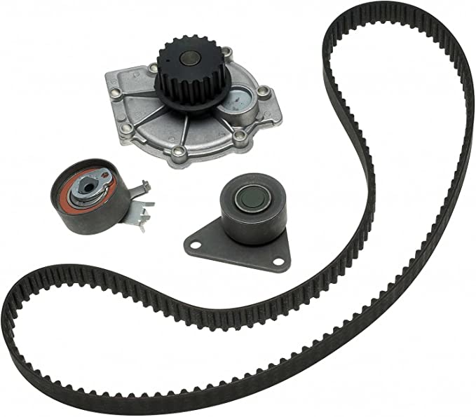 ACDelco TCKWP265C Professional Timing Belt and Water Pump Kit with Tensioner and Idler Pulley