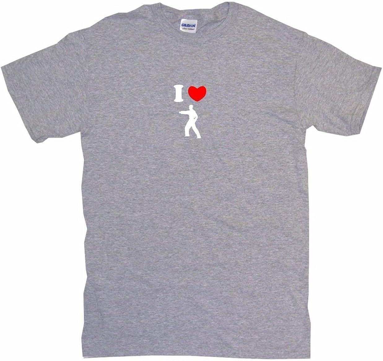 I Heart Love Karate Form logo Kids Tee Shirt Boys Girls Unisex 2T-XL