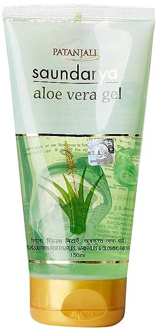 Amazoncom Patanjali Saundarya Aloe Vera Face Wash Gel Beauty