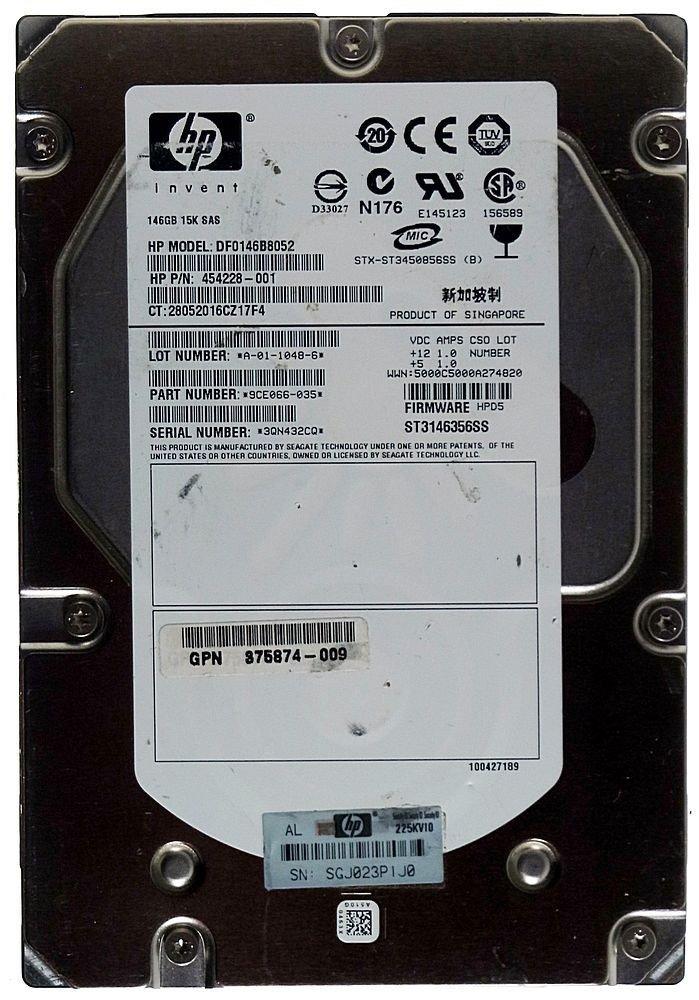 HP Seagate Cheetah SAS Hard Drive Driver Download