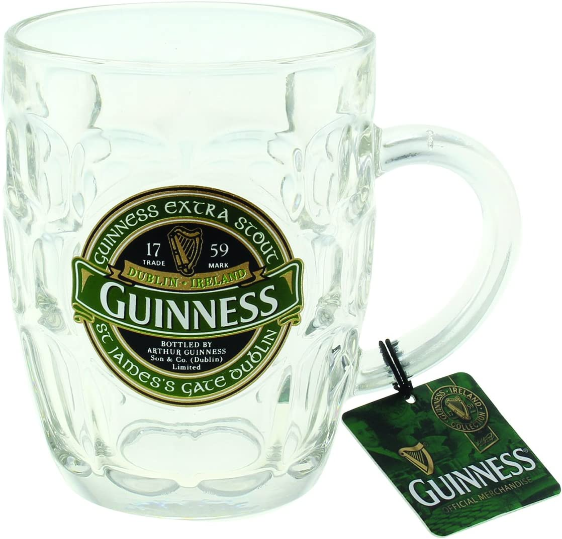 Guinness® Green Collection Dimpled Tankard by Guinness Official Merchandise