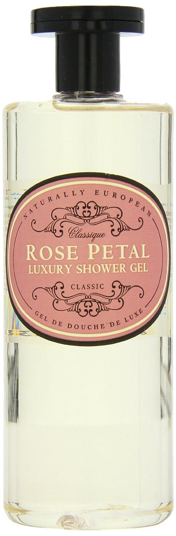 Naturally European Rose Petal Luxury Shower Gel, 500 Ml / 17 Oz